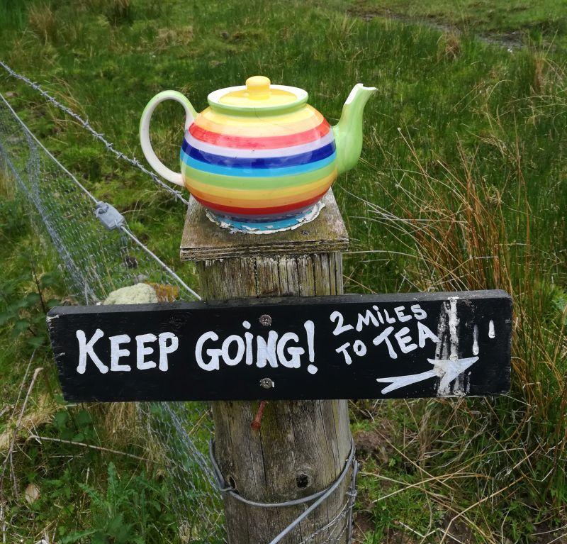 Wandern in Schottland, Kerrera