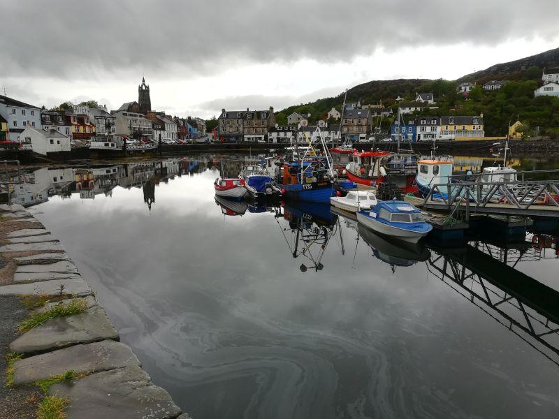 Tarbert, Kintyre, Hafen, Schottland
