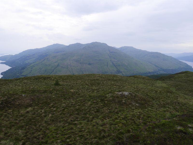 Cruagh Tairbeirt Gipfel, Schottland, Loch Lomond, Tarbet
