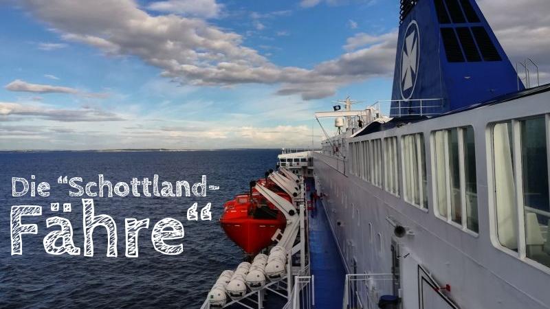 DFDS Schottland Fähre Amsterdam Newcastle
