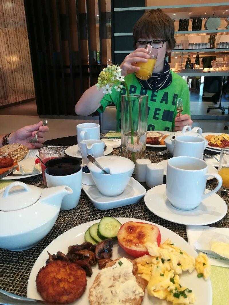 Atlantic Hotel Essen Frühstück
