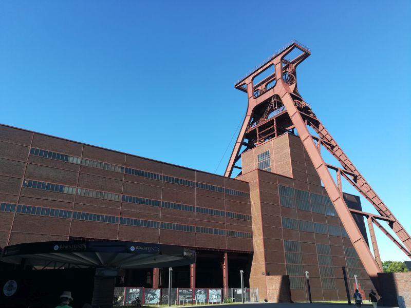 Zeche Zollverein, Essen mit Kindern
