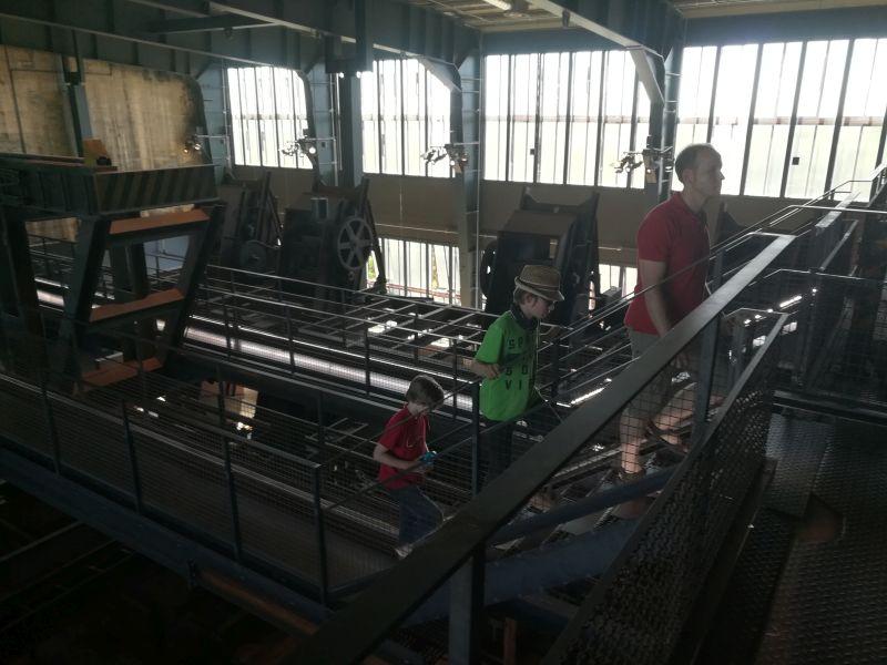 Zeche Zollverein Essen mit Kindern