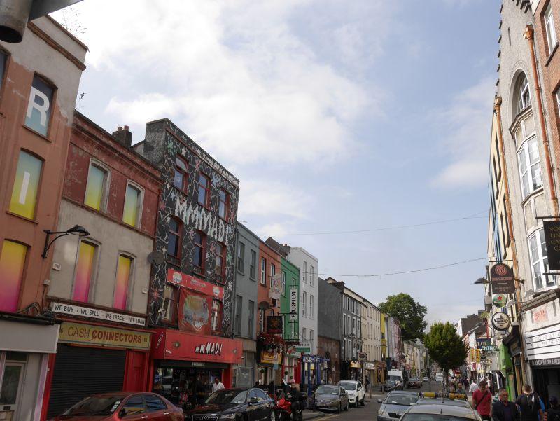 Cork, Irland mit Kind