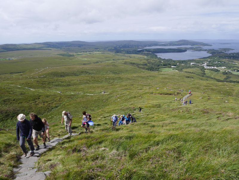 Diamond Hill, Connemara, Irland, Wild Atlantic Way