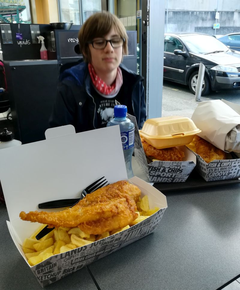 Fish and Chips Wexford