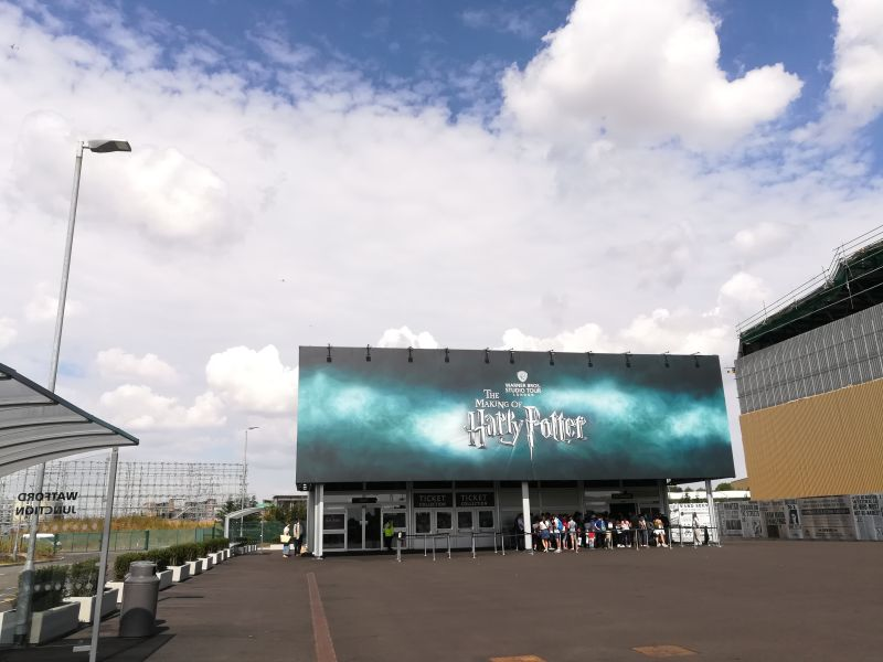 Harry Potter London mit Kindern, Warner Bros Studio Tour,