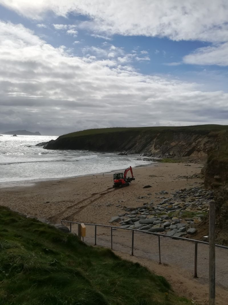 Dingle Tagesausflug, Dingle mit Kindern, Clogher Beach