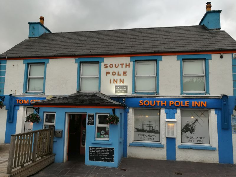 South Pole Inn, Annascaul, Dingle, Irland