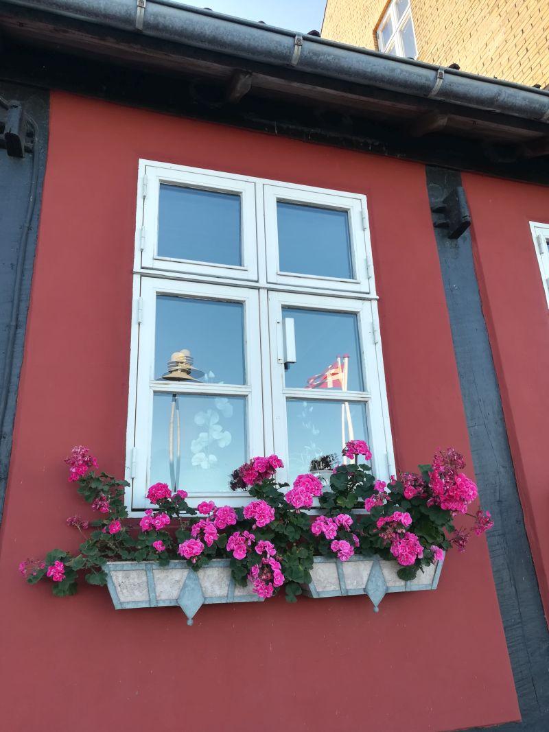 Allinge, Bornholm, Fachwerkhaus