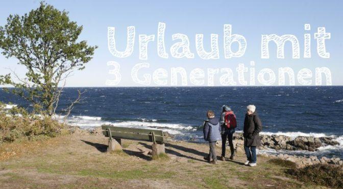 Urlaub auf Bornholm mit drei Generationen, mit Kindern und Großeltern