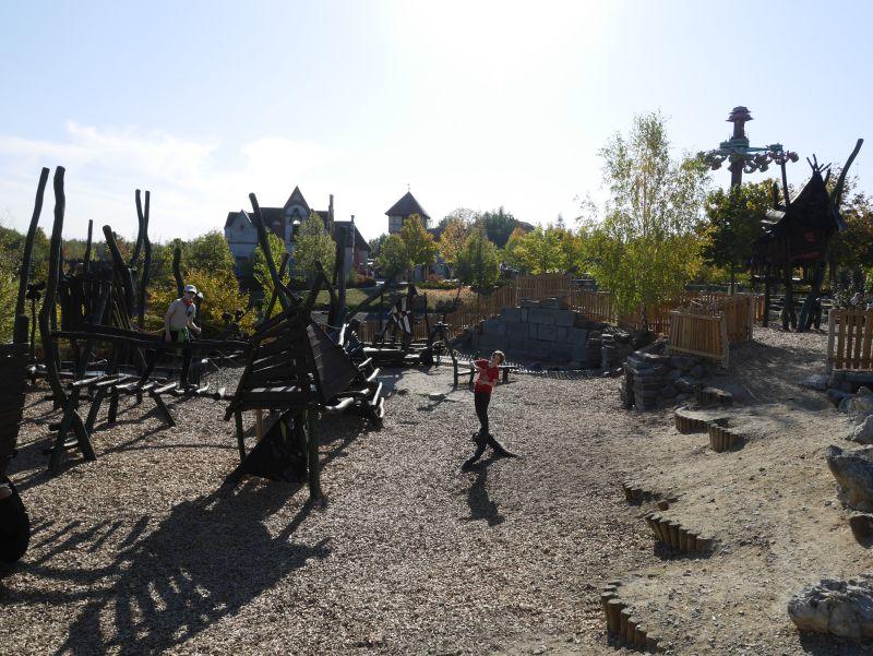 Belantis Freizeitpark Leipzig Erfahrungsbericht, Spielplatz
