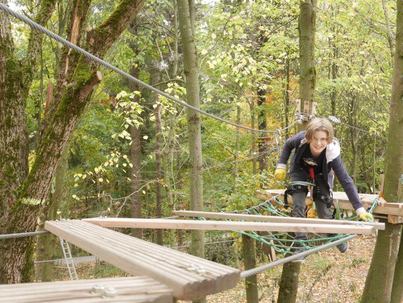 sachsen vogtland kletterwald schöneck