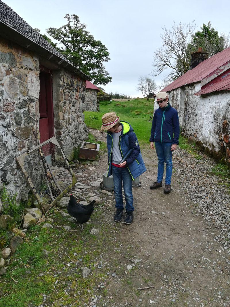 Schottland mit Kindern Ausflugstipp Freilichtmuseum Auchindrains Highlands