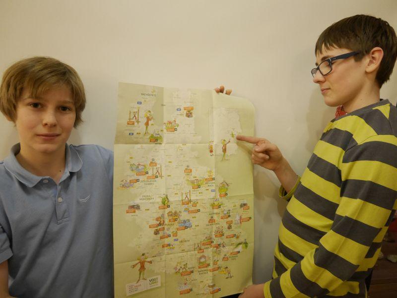 vogtland sachsen karte
