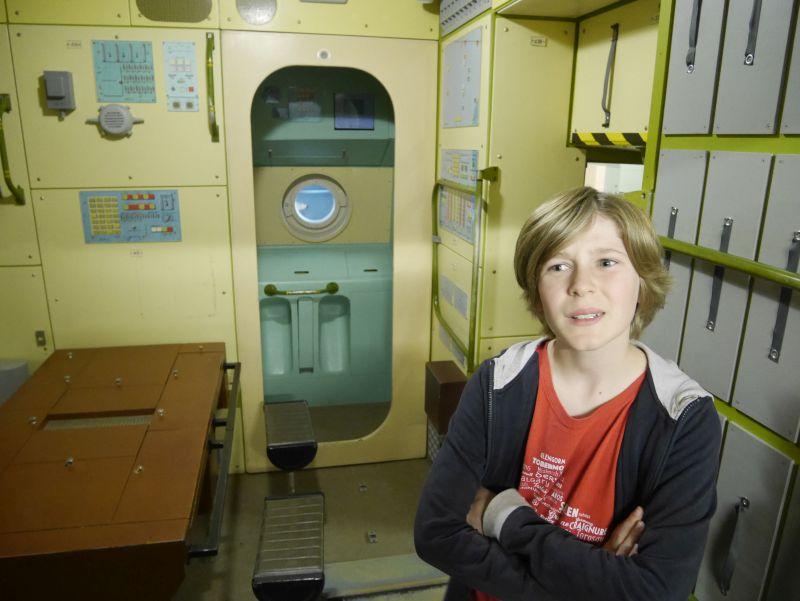 Deutsche Raumfahrtausstellung, Vogtland mit Kindern, Sachsen