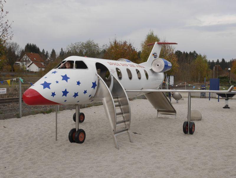 Spielplatz Deutsche Raumfahrtausstellung, Vogtland, Sachsen Ausflugstipps