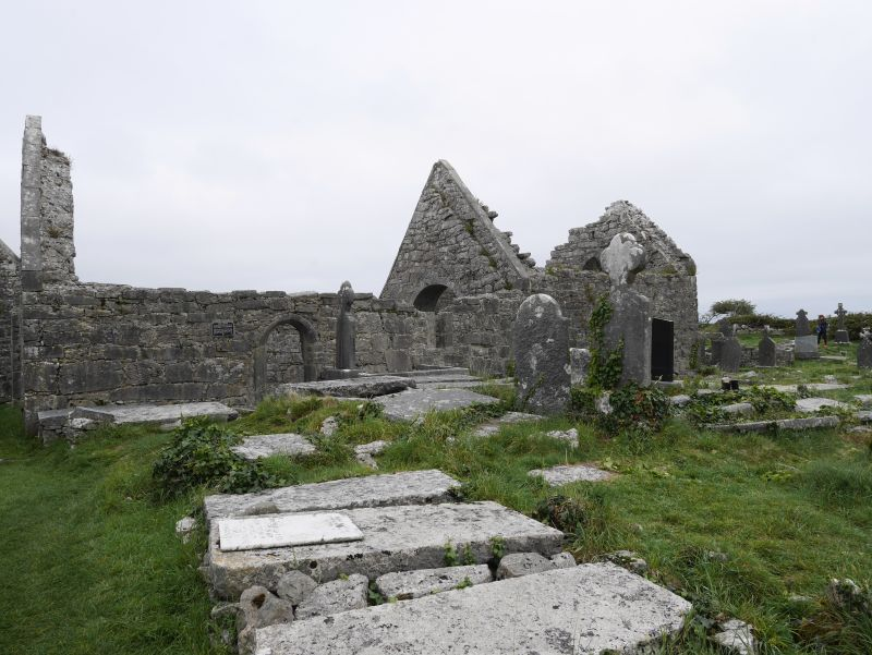 aran islands, inishmore, 7 churches