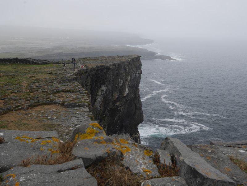aran islands, inishmore, dun aengus klippen