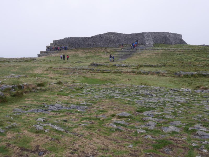 aran islands, inishmore, dun aengus