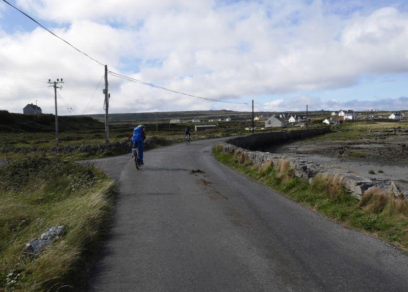 aran islands, inishmore, fahrradtour