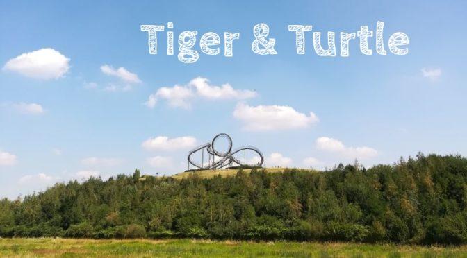 Tiger & Turtle: Die Fußgänger-Achterbahn in Duisburg (und was es da sonst noch gibt)