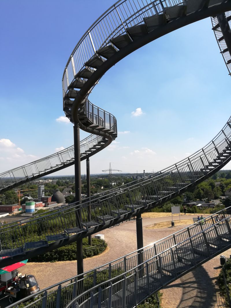 duisburg tiger & turtle magic mountain, Aussicht