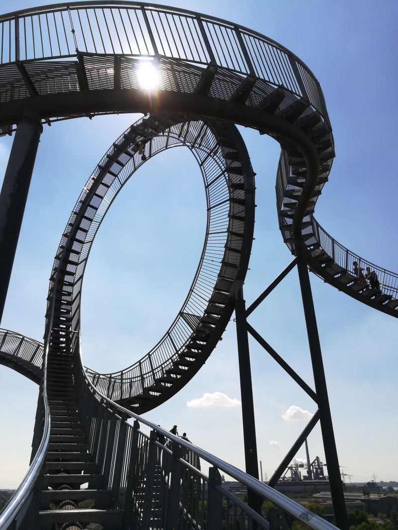 duisburg tiger & turtle magic mountain, Looping