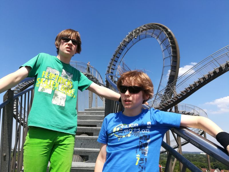 duisburg tiger & turtle magic mountain mit kindern