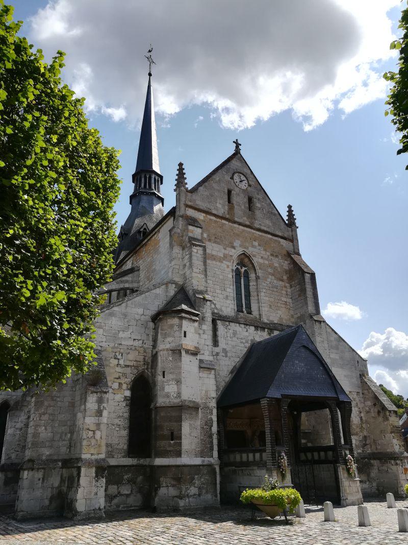 Les Andelys, Kirche