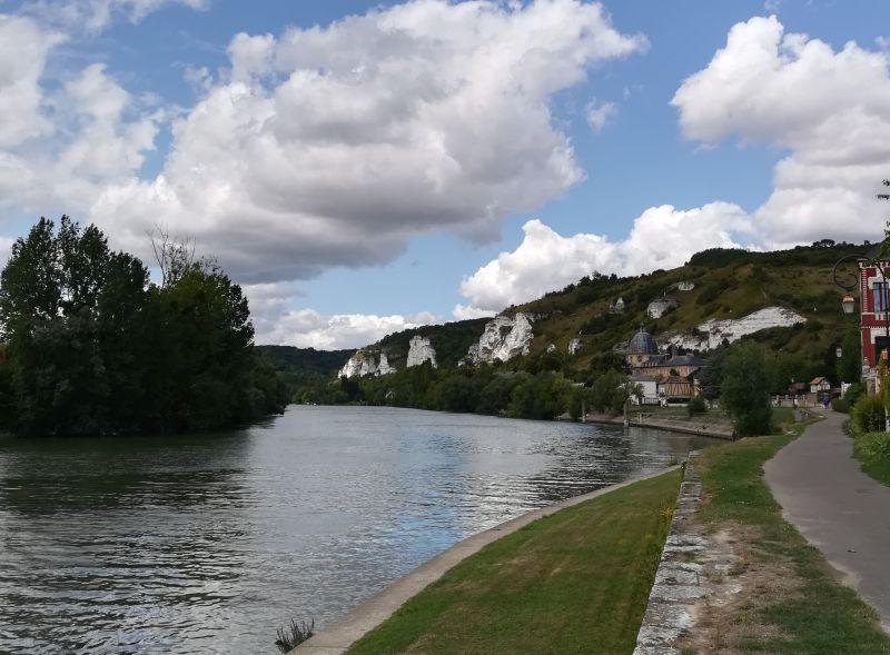 Les Andelys, Seine, Frankreich