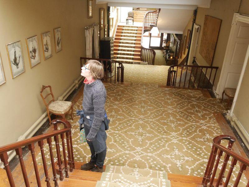 bantry house irland treppen