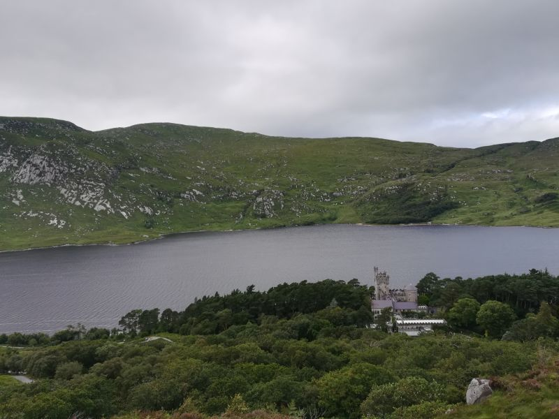 irland glenveagh castle nationalpark donegal