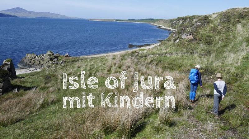 isle of jura mit Kindern, Schottland, Wandern