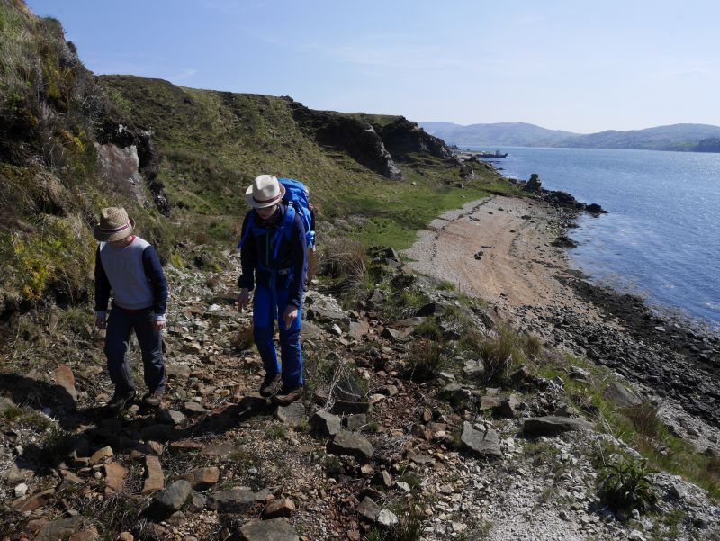 isle of jura wandern mit Kindern