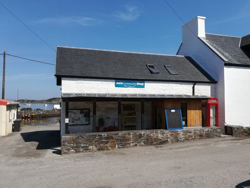 Isle of Jura Supermarkt einkaufen