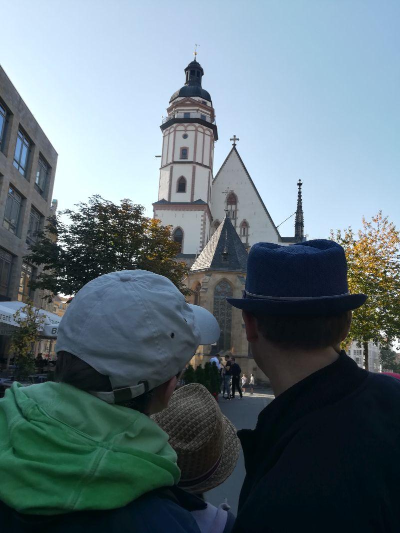 Leipzig mit Kindern, Thomaskirche