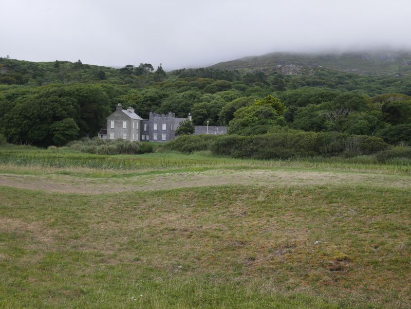 ring of kerry caherdaniel derrynane house