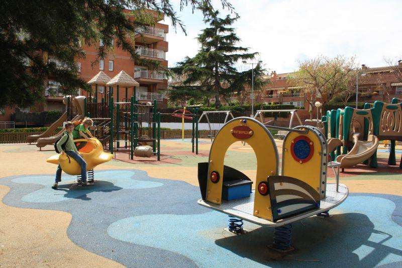 Spielplatz Barcelona mit Kindern