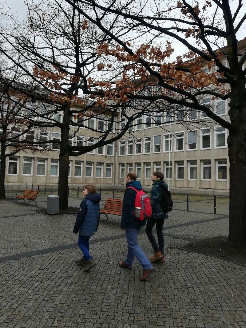 hässliches Hannover mit Kindern