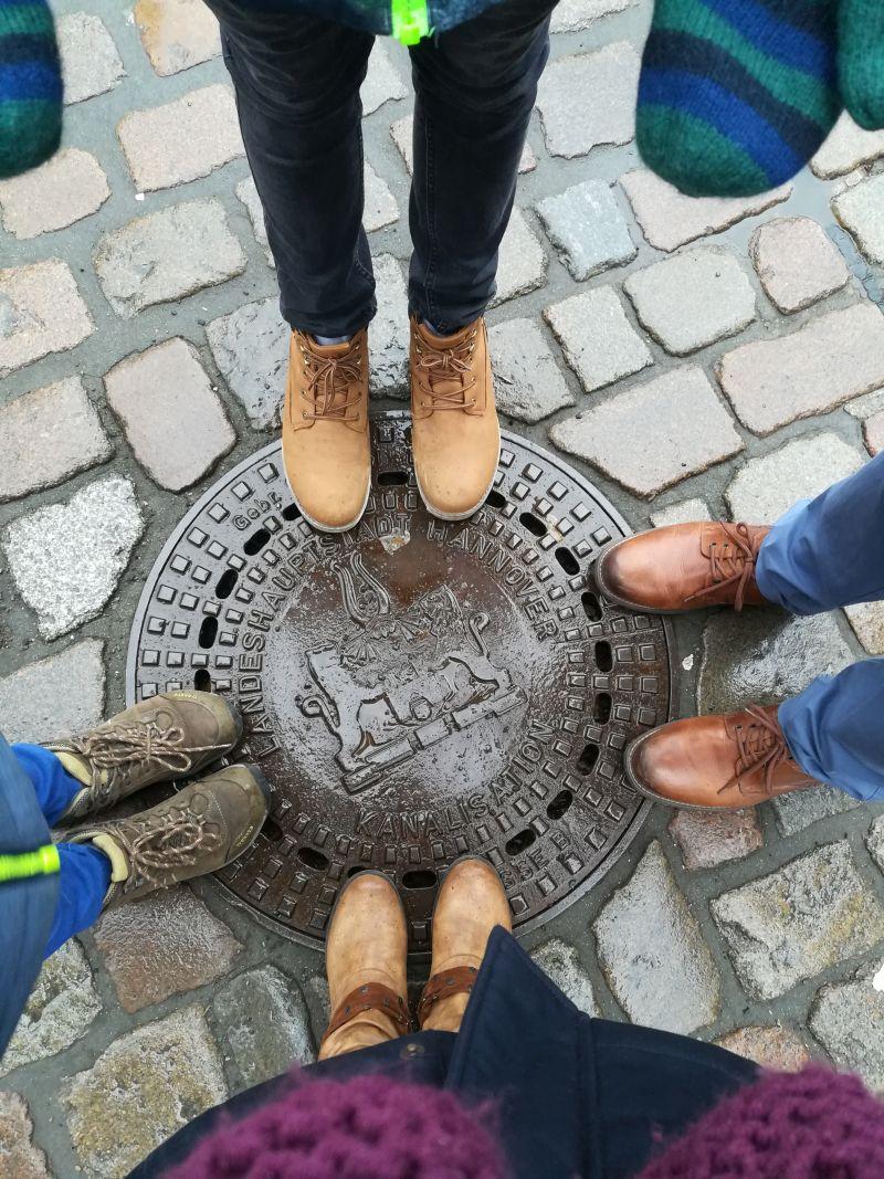 Hannover mit größeren Kindern