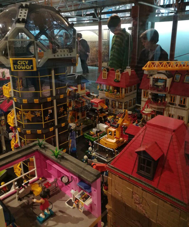 Historisches Museum Hannover mit Kindern, Sonderausstellung Playmobil