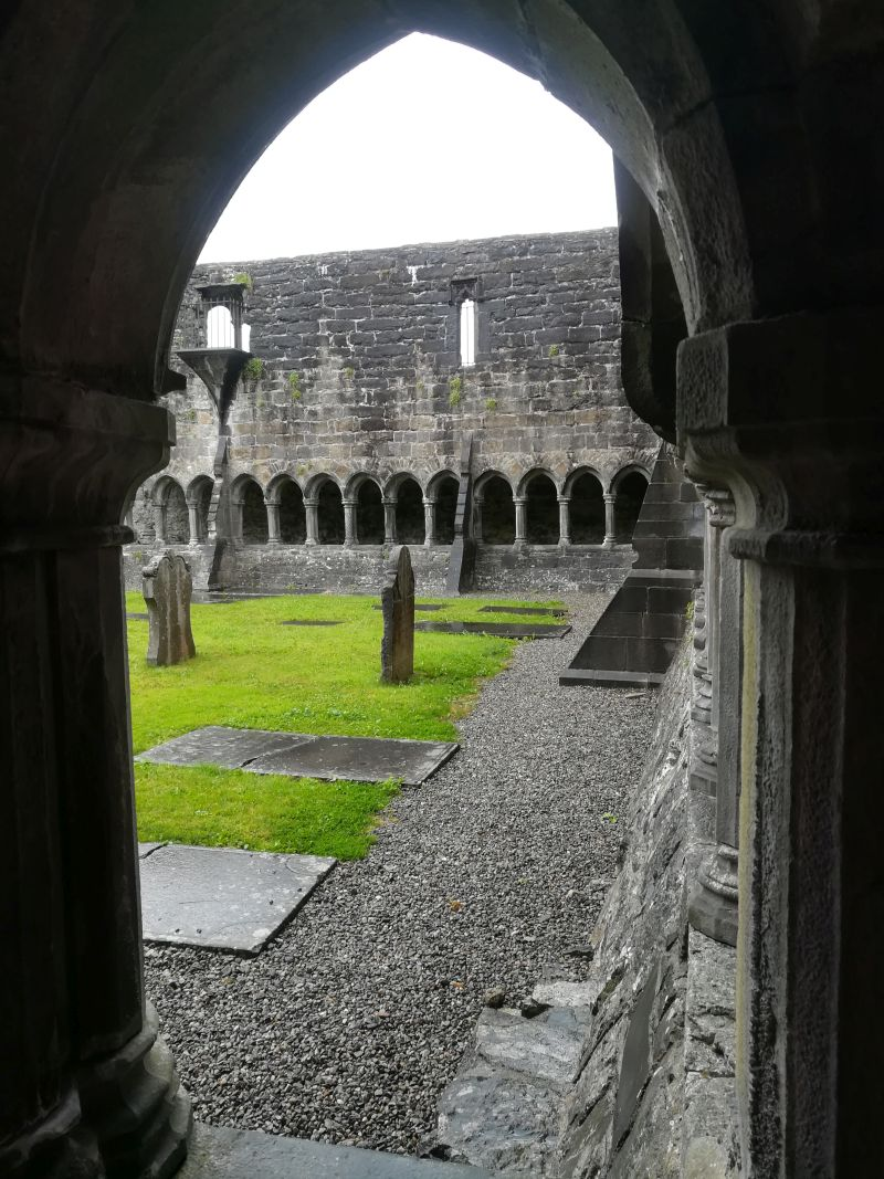 Sligo Abbey, Irland, Heritage Card