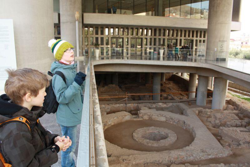 athen mit kindern akropolis museum