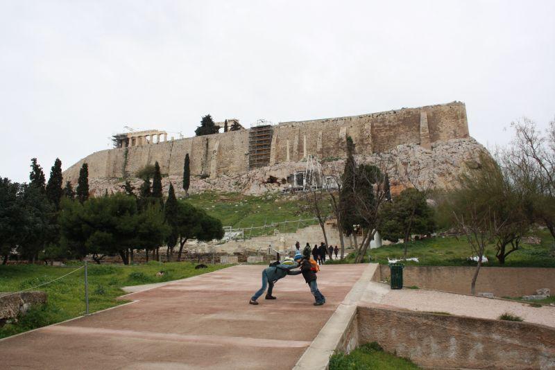 athen mit kindern akropolis park