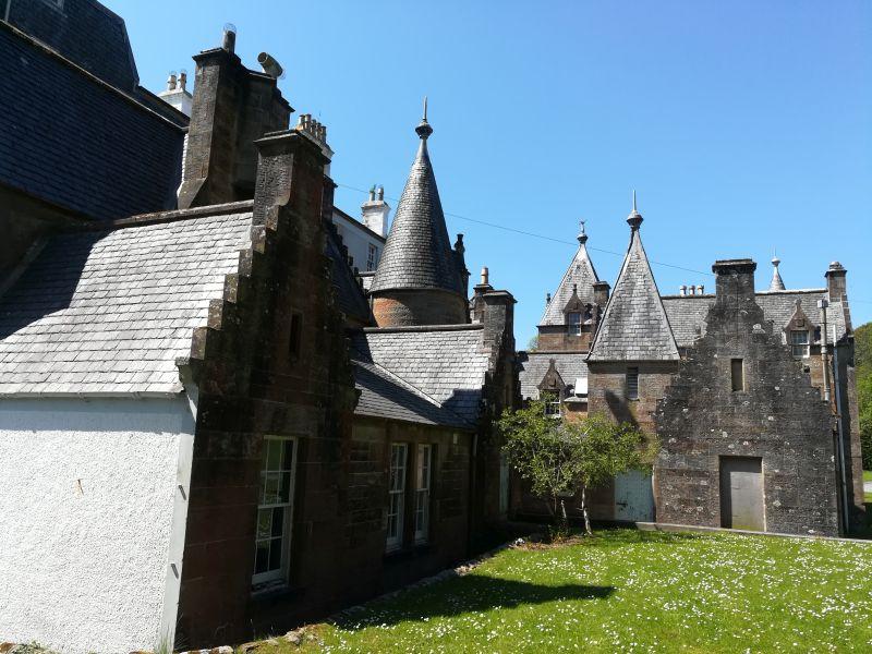 Islay House von hinten