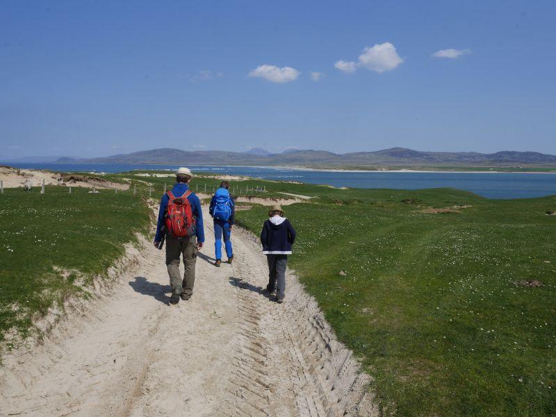 islay mit kindern ardnave point wandern in schottland