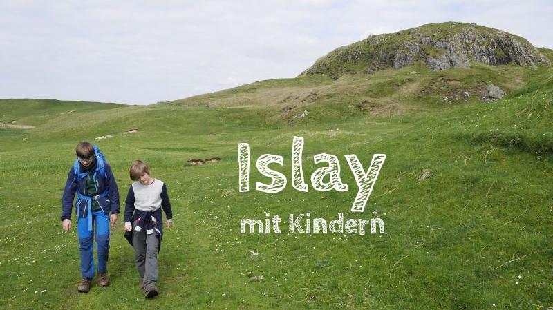 Islay mit Kindern, Schottland, innere hebriden