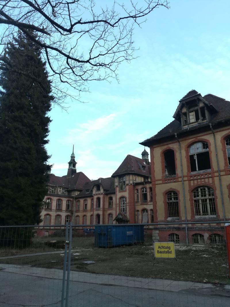 Beelitz Heilsätten legal besichtigen, Männerklinik