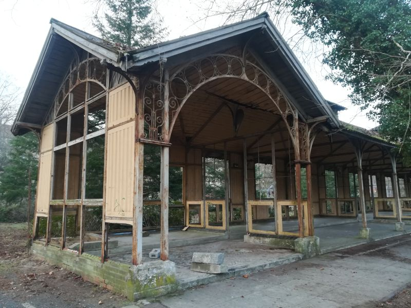 Liegehalle, Beelitz Heilstätten besichtigen